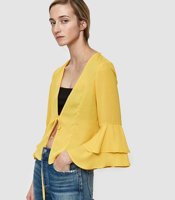 Sori Blouse in Yellow