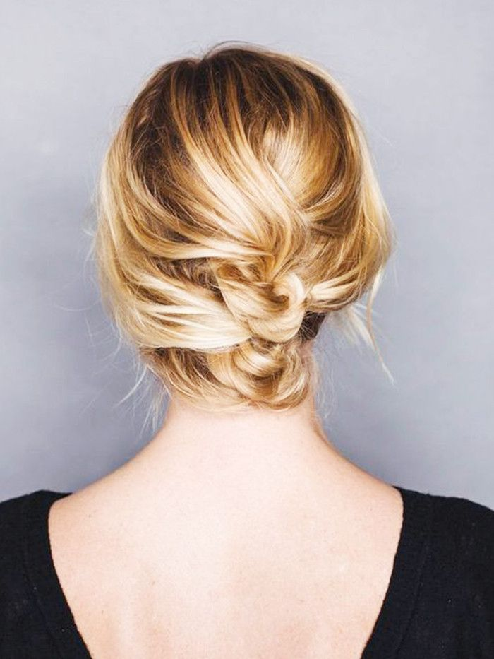 12 Incredibly Chic Updo Ideas for Short Hair | Byrdie