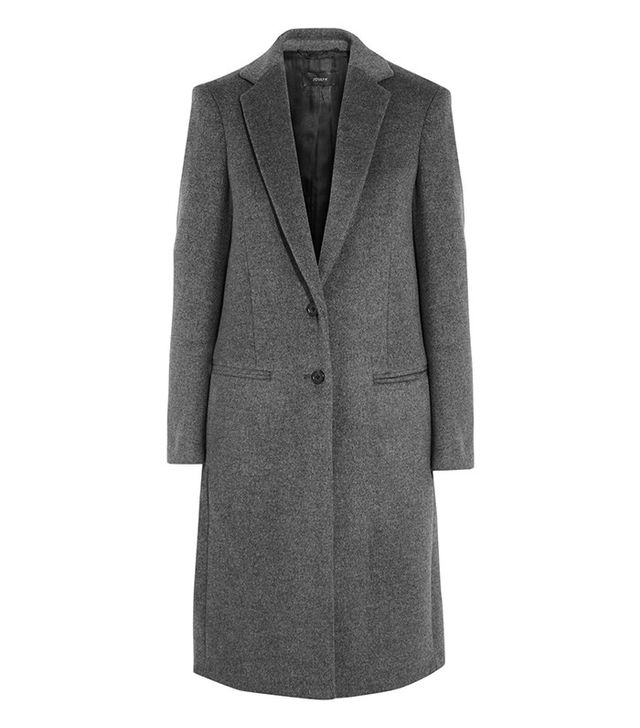 Joseph Mart Wood and Cashmere-Blend Coat