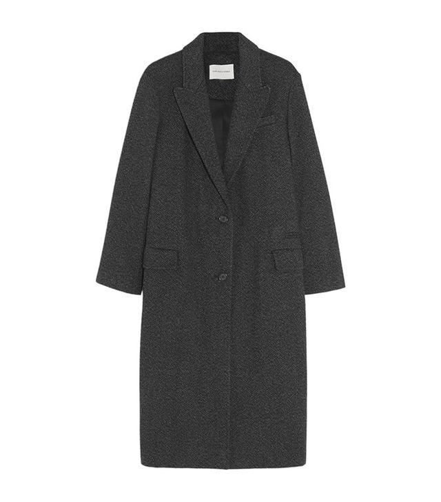 Étoile Isabel Marant Garth Oversize Tweed Coat