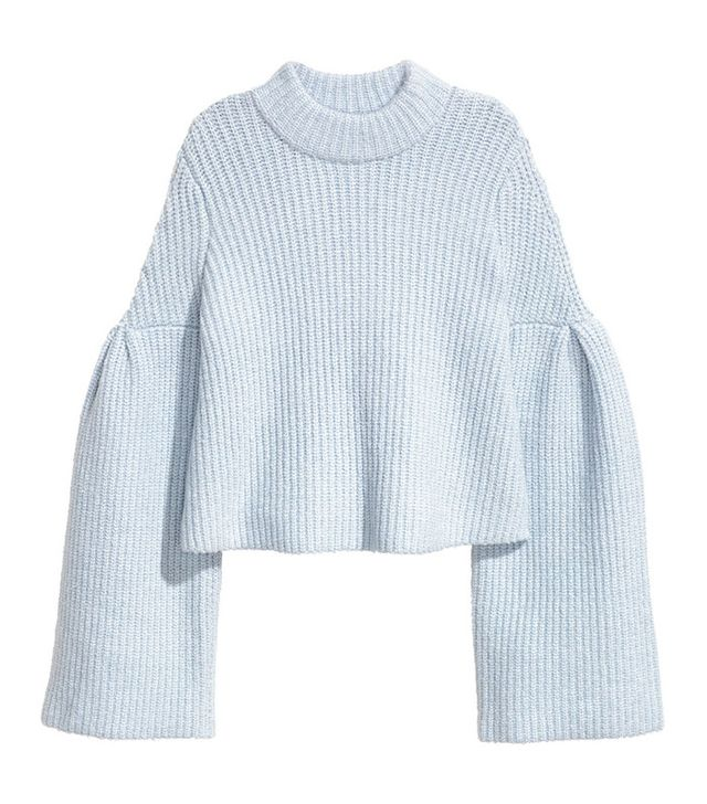 H&M Sweater With Trumpet Sleeves
