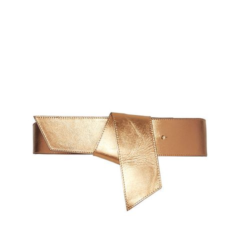 Metallic Knot Belt