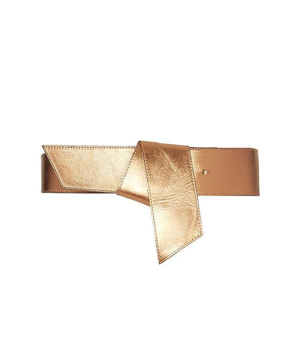 Maison Boinet Metallic Knot Belt