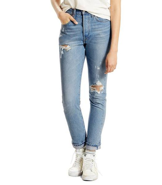 Women's Levi'S 501 High Waist Skinny Jeans