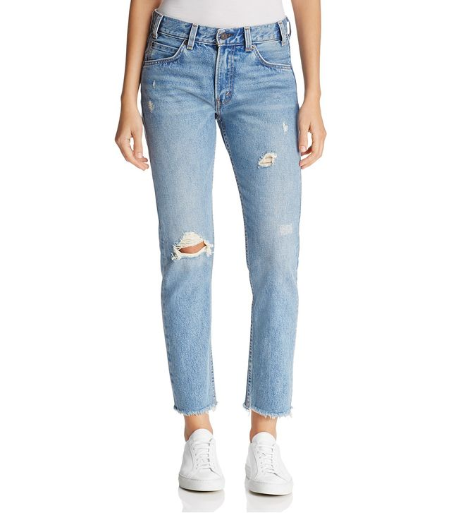 505C High Rise Crop Jeans