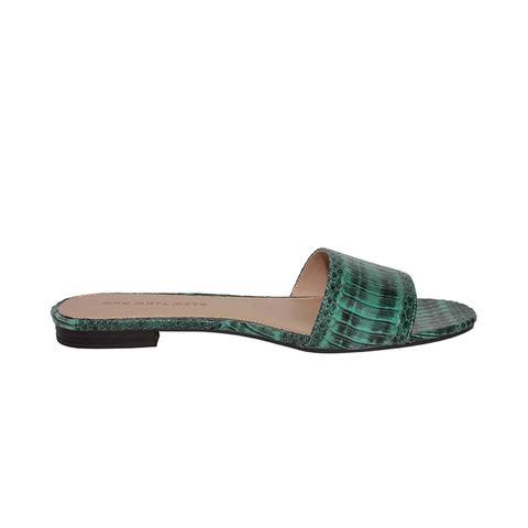 Ava Exotic Print Slide Sandals