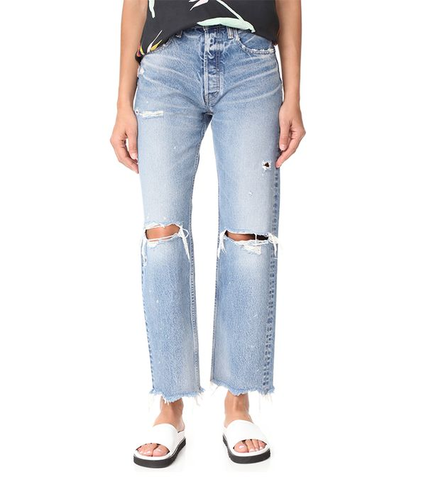 Moussy MV Odessa Wide Stright Jeans
