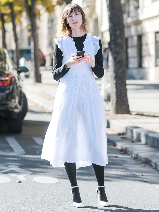 28 Perfect Ways to Wear White This Winter