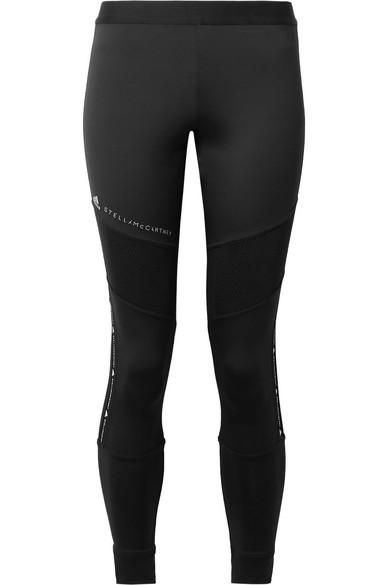 Parley For The Oceans Essentials Mesh-paneled Climalite Stretch Leggings