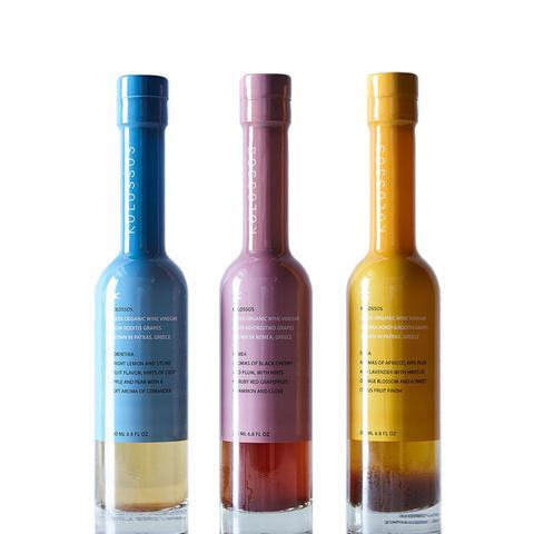 Green Organic Wine Vinegar Trio