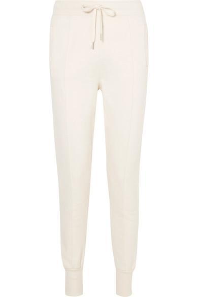 Ganni Cotton-Jersey Track Pants