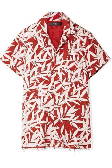 Amiri Printed Tencel Shirt
