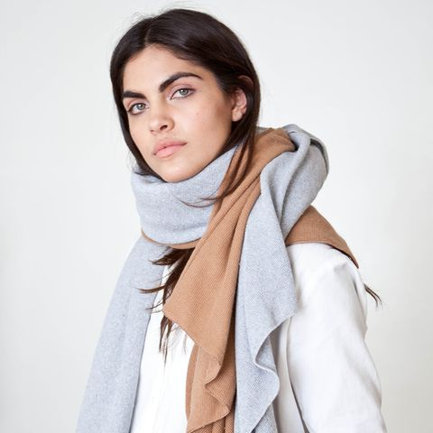 Chilly Diagonal Scarf