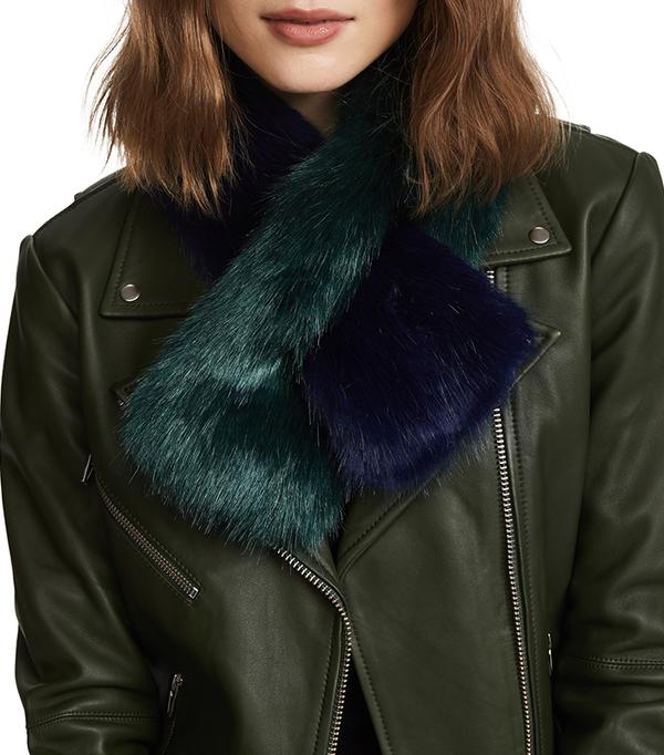 Polly Pop Faux Fur Scarf