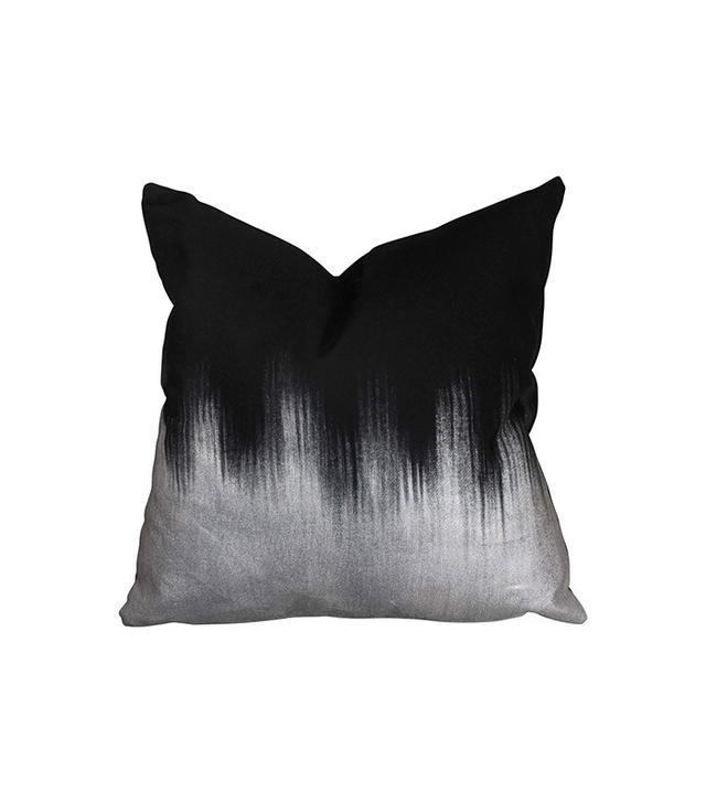 Amanda Hamilton Silver Ombre Alloy Pillow