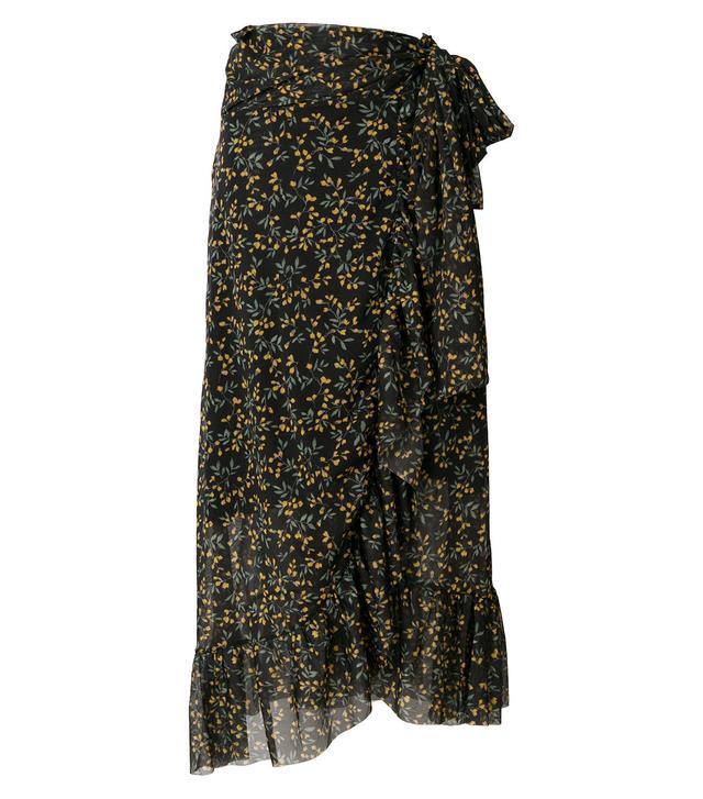 Tilden floral skirt