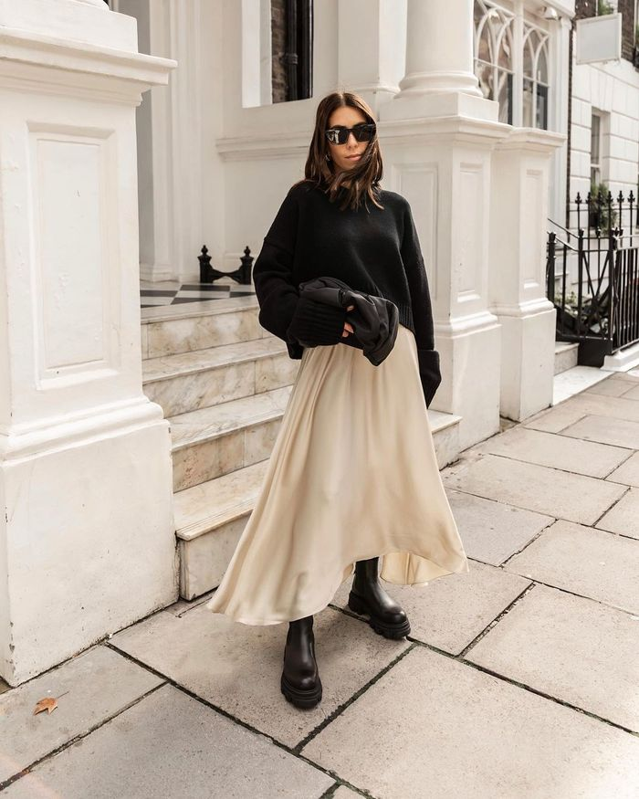 Chic outfits featuring winter skirts
