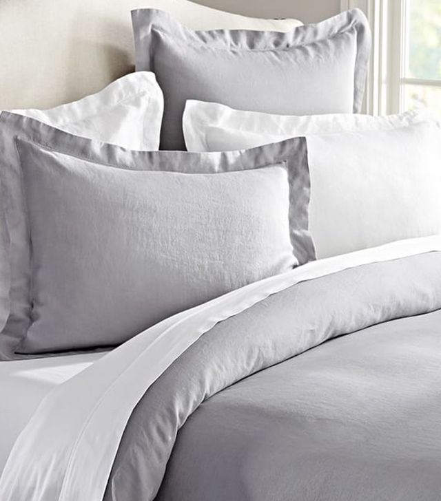 Pottery Barn Belgian Flax Linen Duvet Cover and Sham