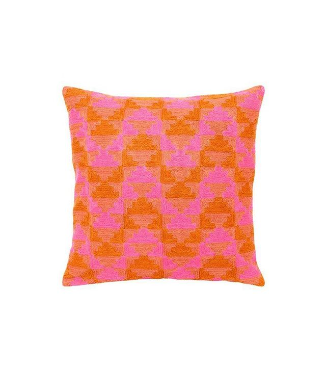 Vintage Pink Rhythm Pillow