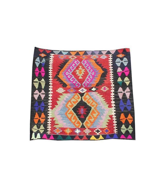 Vintage Dahlia Turkish Kilim Rug