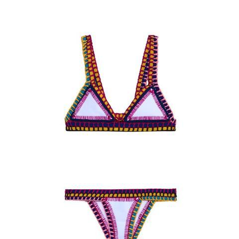 Yaz Crochet-Trim Bikini