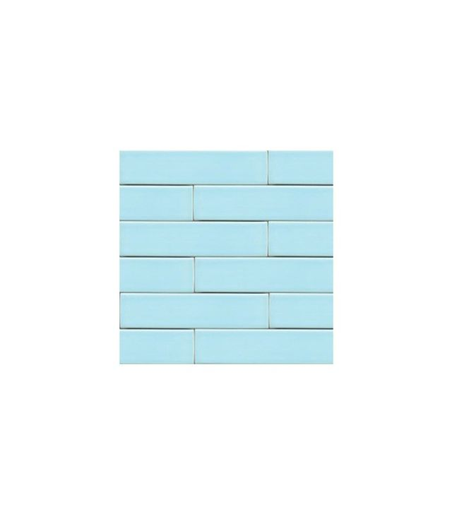 Modwalls Clayhaus 2x8 Splash Light Blue Ceramic Tile