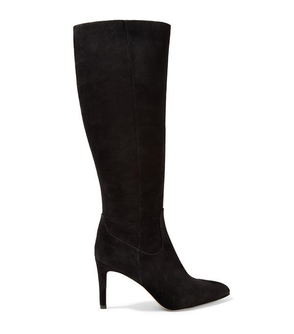Olencia Suede Knee Boots
