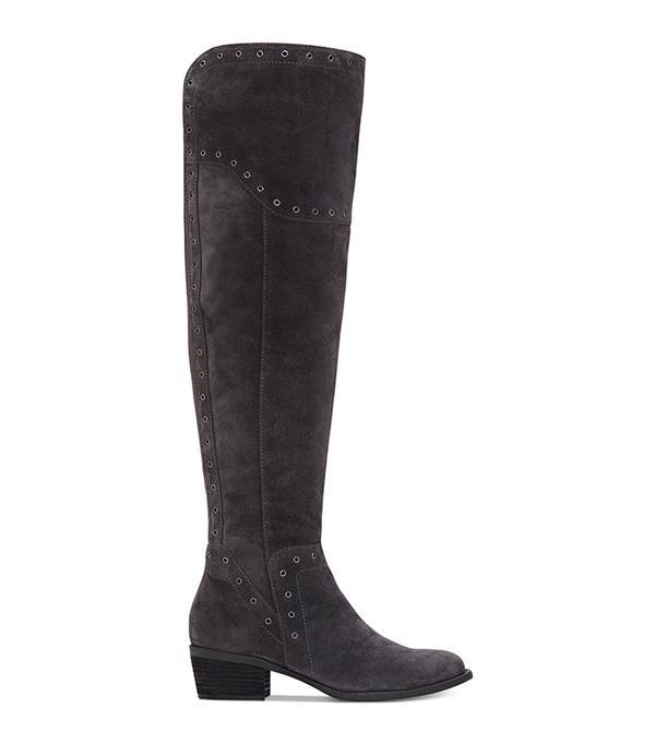 Bestan Wide-Calf Grommet Over-The-Knee Boots Women's Shoes