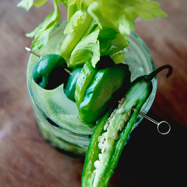 A Deliciously Green Bloody Mary Recipe for Saint Patrick's Day