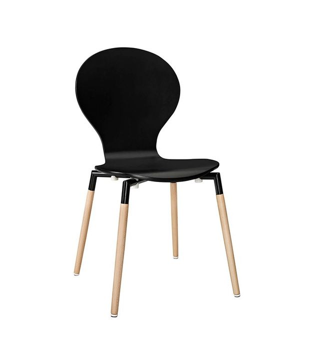 Dot & Bo Black Peg-Leg Chair