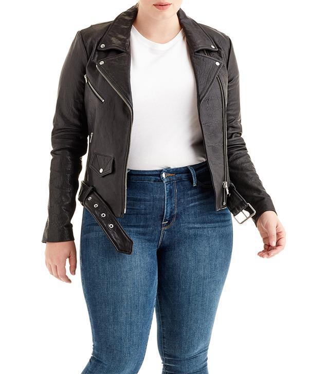womens moto jacket