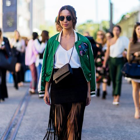 Street Style Trend Report: Fringe Skirts