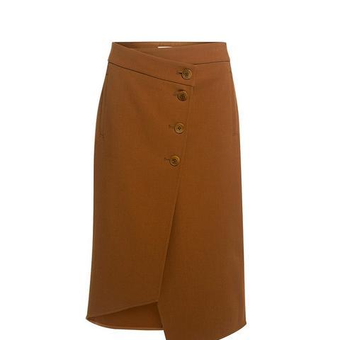 Anson Stretch Wrap Skirt