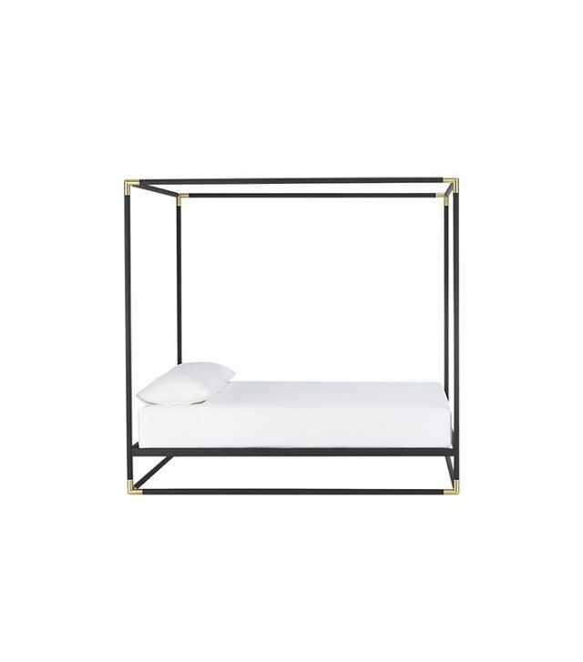 CB2 Frame Canopy Queen Bed