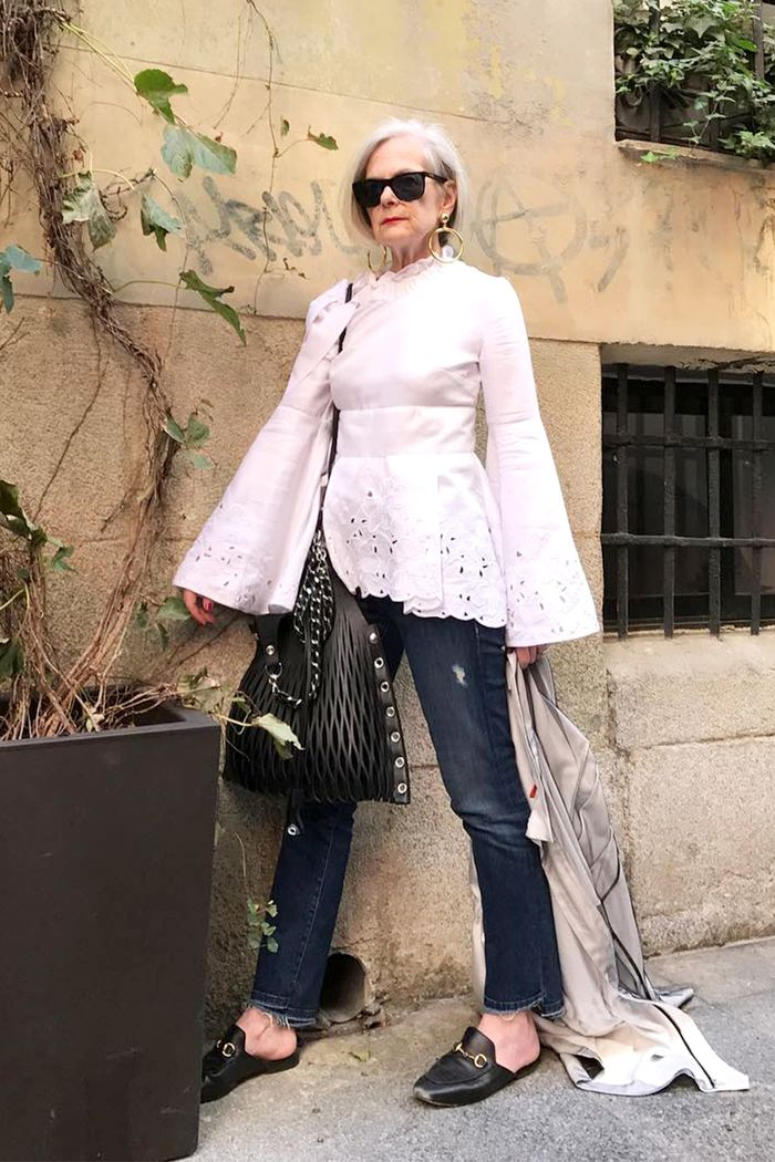 Style Wise The 7 Best Fashion Blogs For Older Style Who What Wear