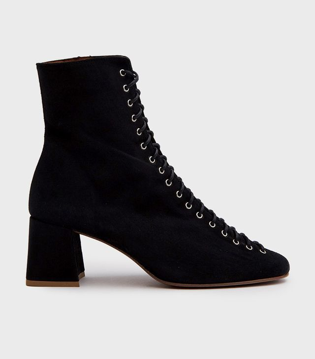 Becca Boot in Black Suede