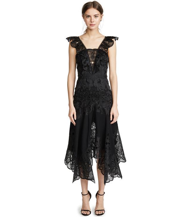 Dimensional Midi Dress