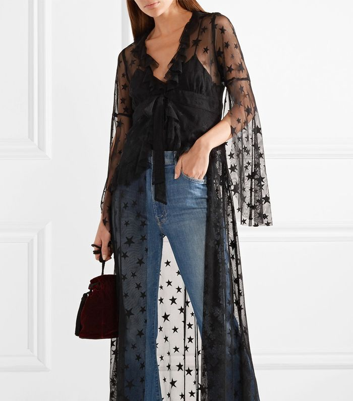 Shooting Star Point D'esprit Tulle Jacket
