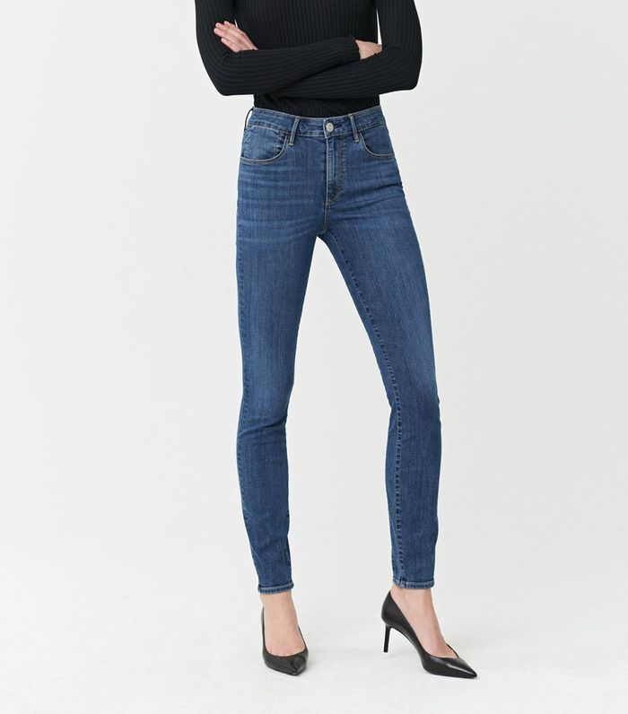 3x1 Channel Seam Skinny High Rise Jeans