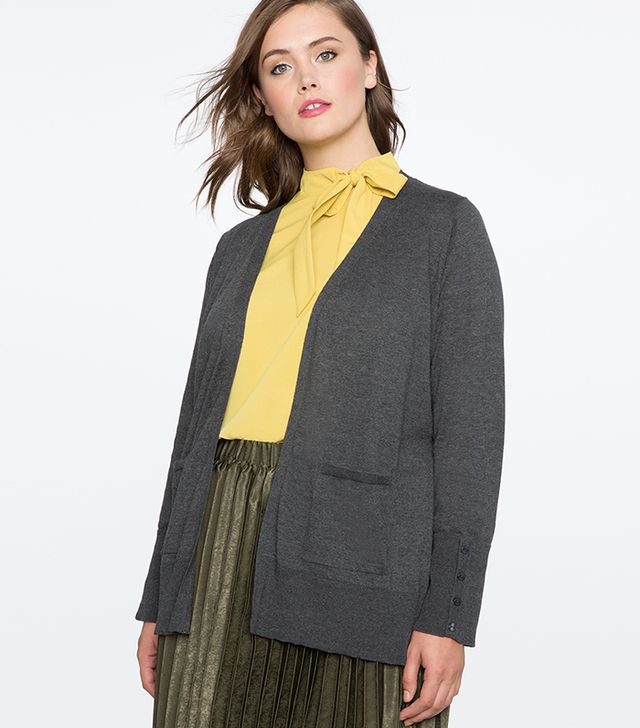 Eloquii Riding Cardigan