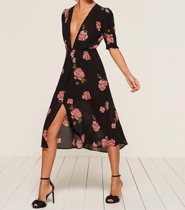 spring florals - Reformation Anja Dress