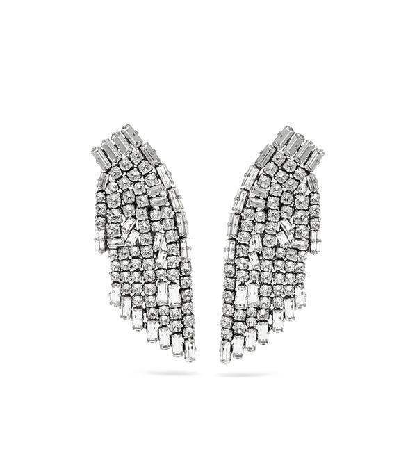 spring florals - Saint Laurent Crystal Earrings