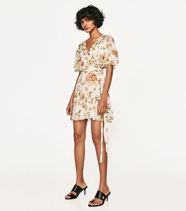 spring florals - Zara Mini Dress