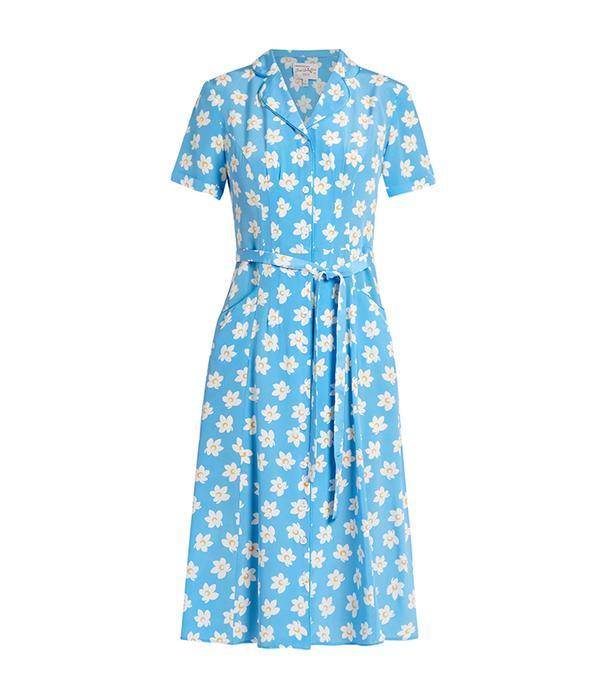 spring floral dresses - HVN Maria Falling Floral Dress