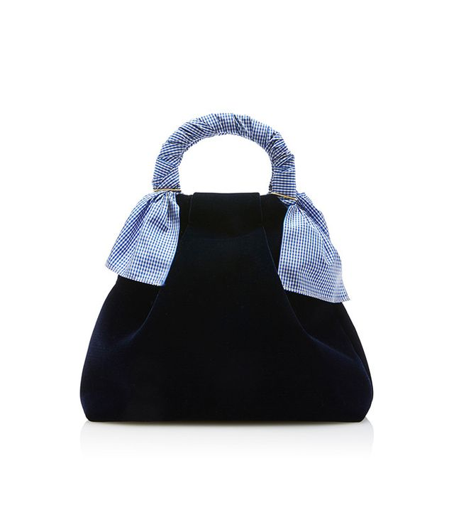 Trademark Hazel Velvet Shopper