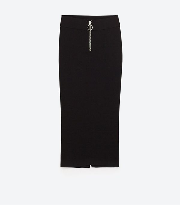 Zara Pencil Skirt with Slit