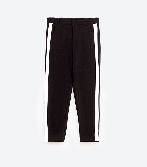 Zara Trousers with Side Band