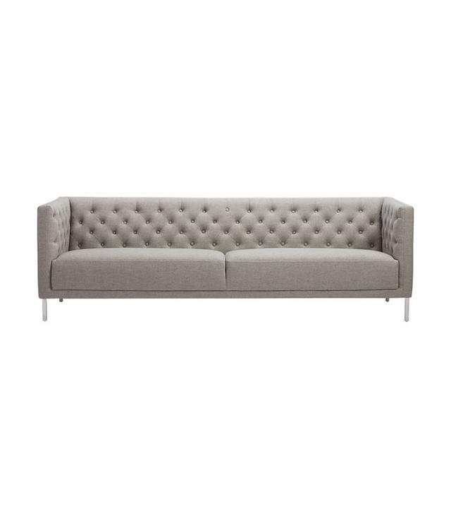 CB2 Savile Grey Sofa