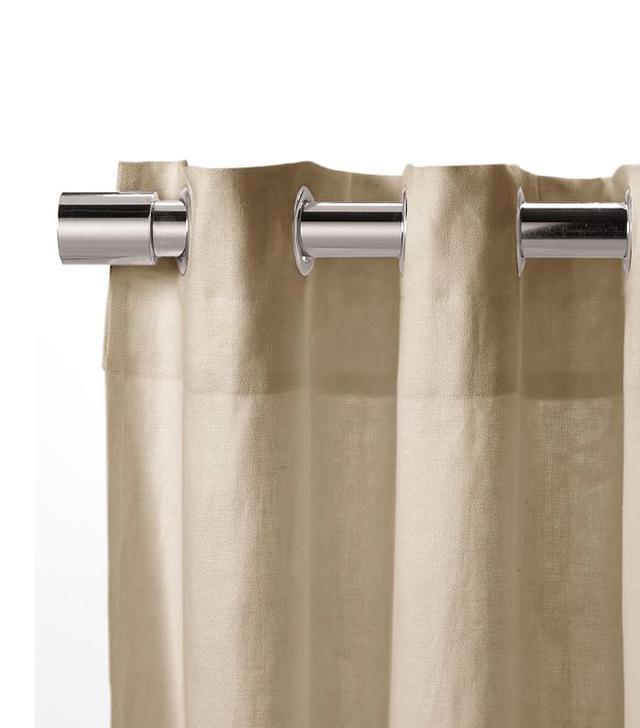 West Elm Linen Cotton Grommet Curtain