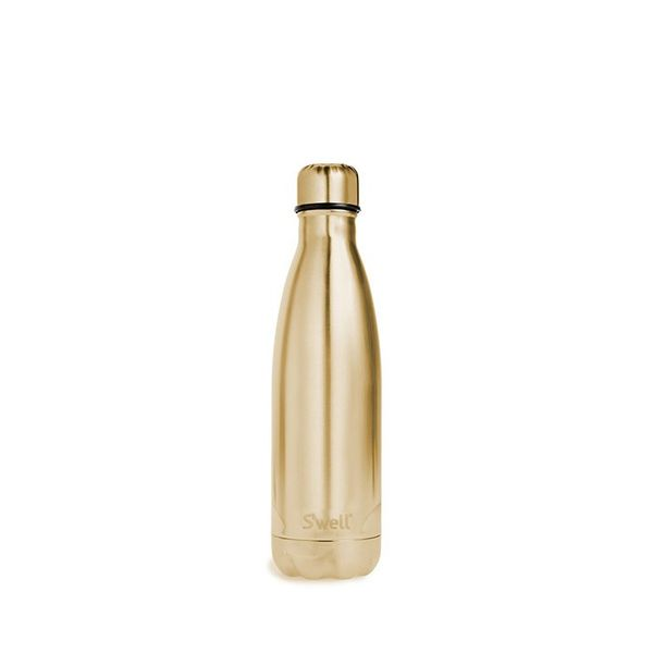 S'well Yellow Gold Stainless Steel Water Bottle